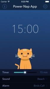 Power Nap App Screenshot